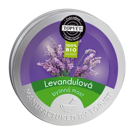 Zobrazit detail výrobku Topvet Levandulová mast 50 ml