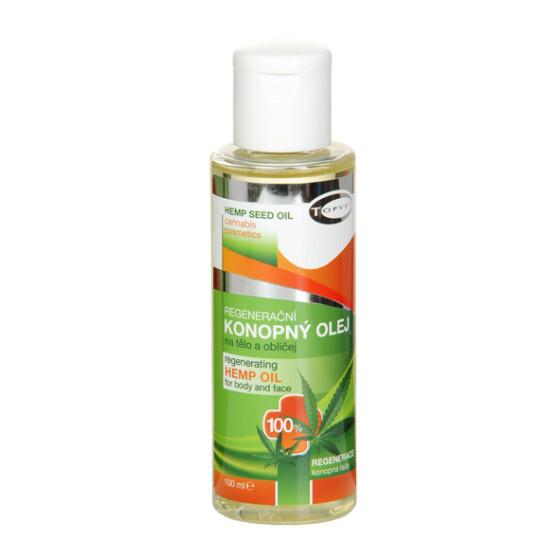 Zobrazit detail výrobku Topvet Regenerační konopný olej 100% 100 ml