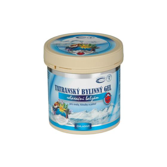 Zobrazit detail výrobku Topvet Tatranský masážní gel chladivý 250 ml