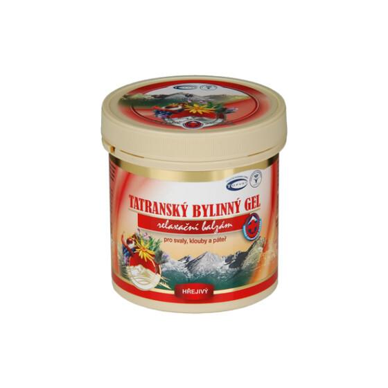 Zobrazit detail výrobku Topvet Tatranský masážní gel hřejivý 250 ml