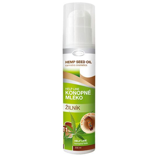 Zobrazit detail výrobku Topvet Therapeutic konopné mléko ŽILNÍK 11% 200 ml