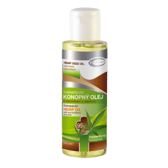 Zobrazit detail výrobku Topvet Therapeutic konopný olej 95% 100 ml