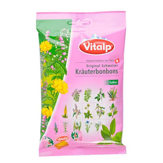 Zobrazit detail výrobku Topvet VITALP bylinné bonbony šalvěj 75 g
