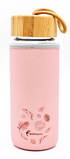 Zobrazit detail výrobku Tropikalia Obal na skleněnou lahev - PINK