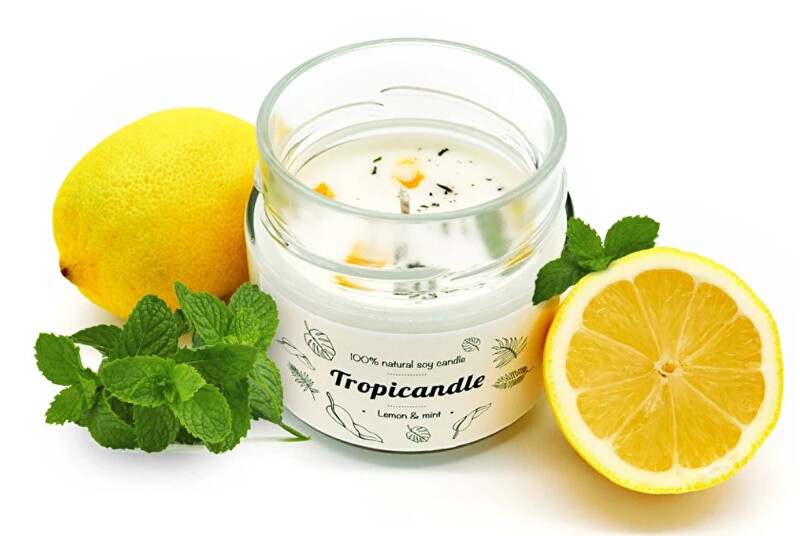 Zobrazit detail výrobku Tropikalia Tropicandle - Lemon & mint