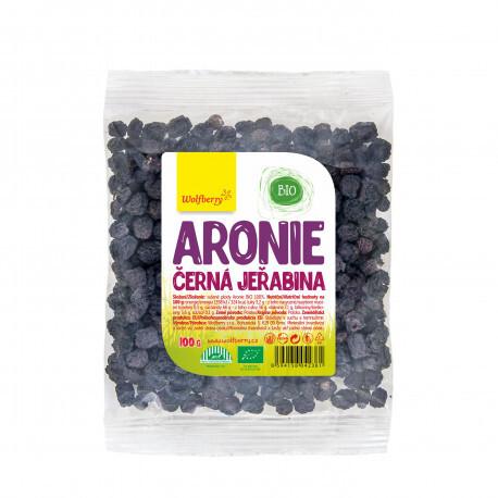 Zobrazit detail výrobku Wolfberry Aronie 100 g Wolfberry