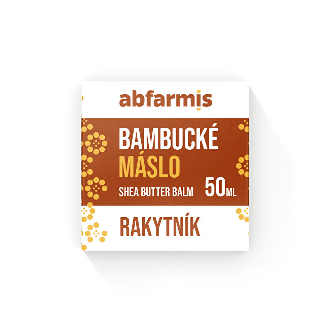 Zobrazit detail výrobku Abfarmis Abfarmis Bambucké máslo rakytník 50 ml