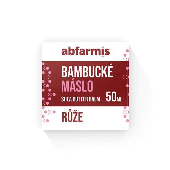 Zobrazit detail výrobku ABFARMIS Abfarmis Bambucké máslo růže 50 ml