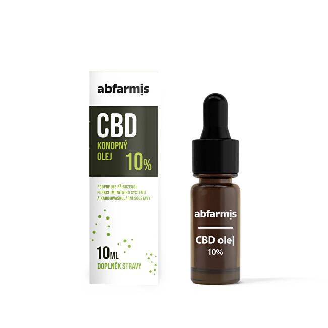 Zobrazit detail výrobku Abfarmis CBD olej 10% 10 ml