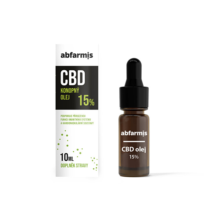 Zobrazit detail výrobku Abfarmis CBD olej 15% 10 ml