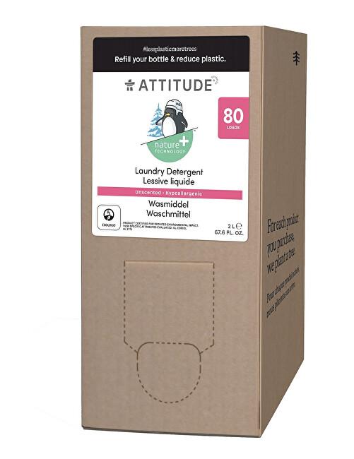 Zobrazit detail výrobku Attitude Prací gel pro děti Nature+ bez vůně - náhradní kanystr 2 l