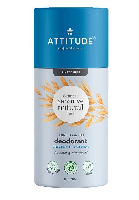 Zobrazit detail výrobku Attitude Přírodní tuhý deodorant - pro citlivou a atopickou pokožku - bez vůně 85 g