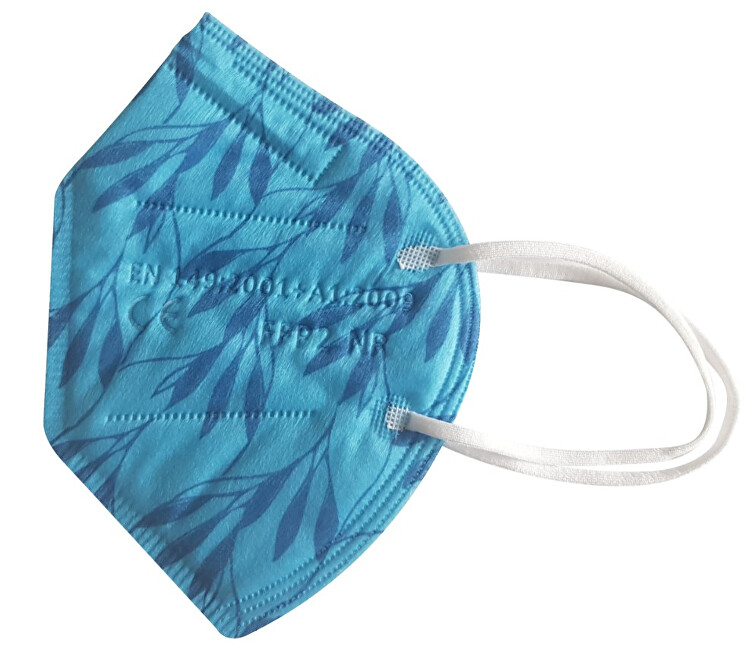 Zobrazit detail výrobku Balerina Nano respirátor FFP2 - světle modrý