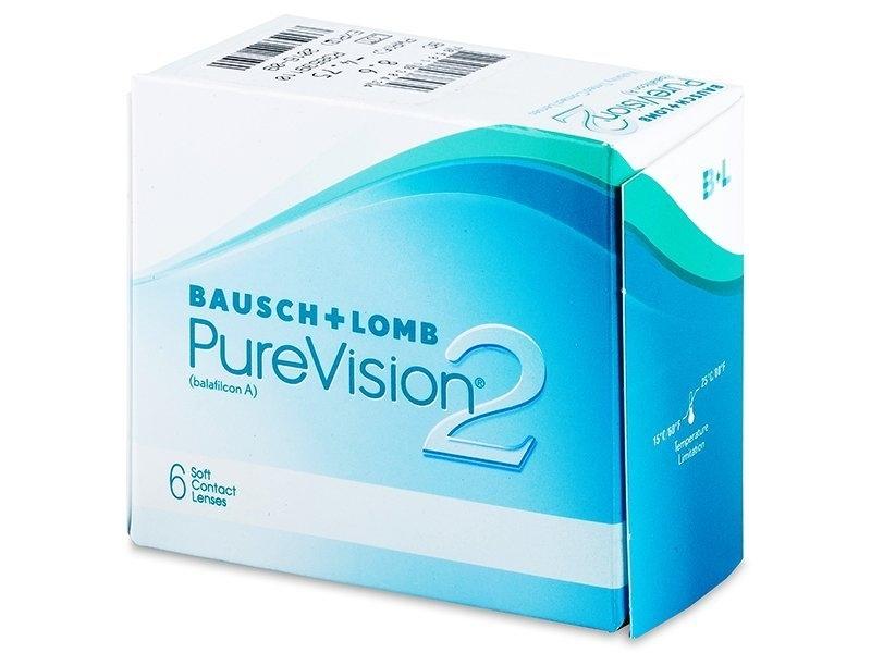 Zobrazit detail výrobku Bausch & Lomb PureVision 2 HD 6 čoček -0,50