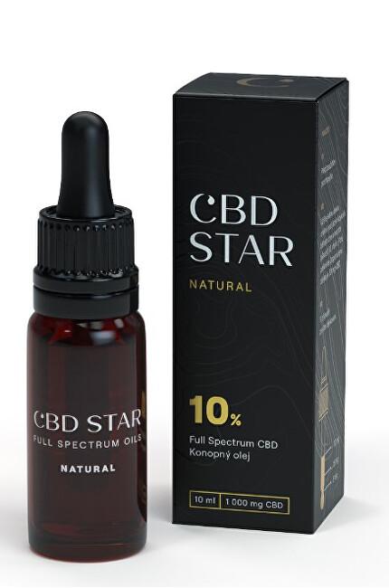 "Zobrazit detail výrobku CBD STAR CBD ""NATURAL"" OLEJ – 10% CBD 10 ml"