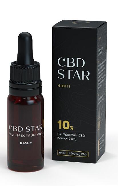"Zobrazit detail výrobku CBD STAR CBD ""NIGHT"" OLEJ – 10% CBD 10 ml"