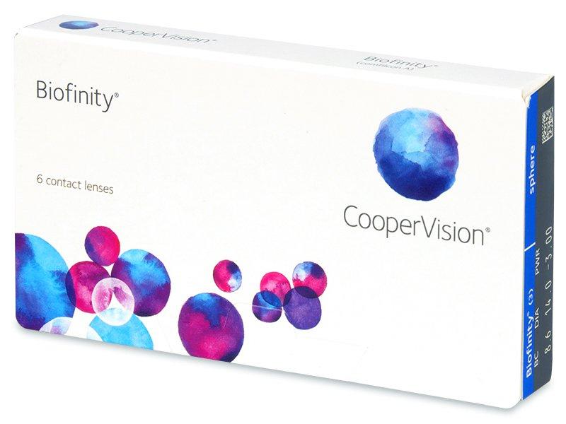 Zobrazit detail výrobku CooperVision Biofinity 6 čoček +4,00