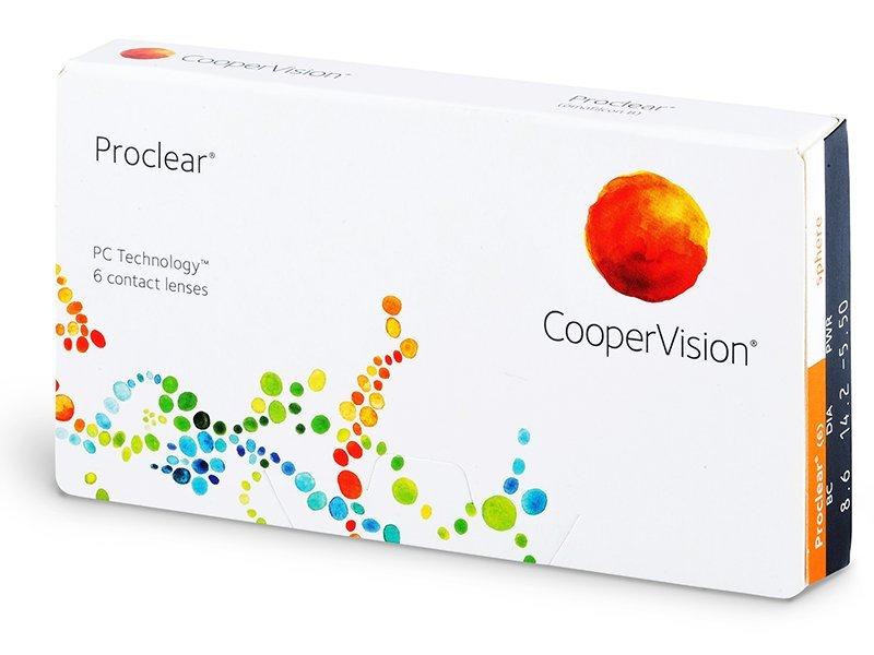 Zobrazit detail výrobku CooperVision Proclear Compatibles Sphere 6 čoček -9,50