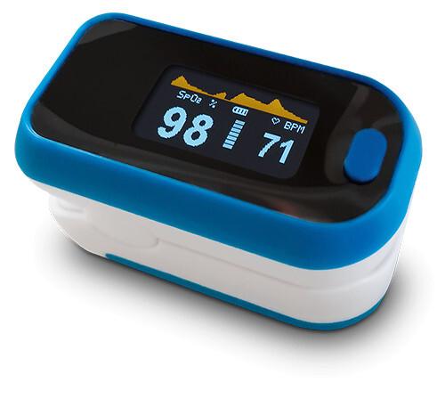 Zobrazit detail výrobku Depan Pulzní oxymetr M-130 OLED modrobílý