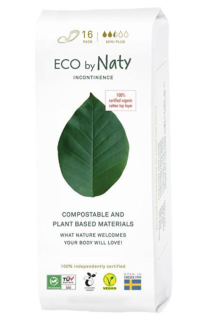 Eco by Naty Dámské ECO inkontinenční vložky Naty - mini plus (16 ks)