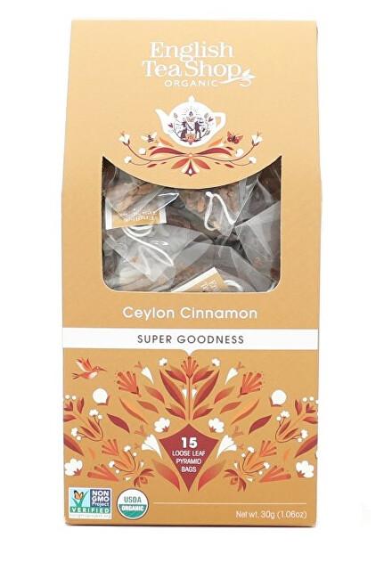 Zobrazit detail výrobku English Tea Shop Cejlonská skořice 15 pyramidek sypaného čaje