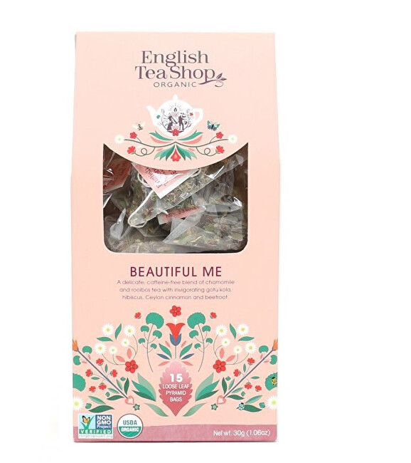 Zobrazit detail výrobku English Tea Shop Pro krásu 15 pyramidek sypaného čaje