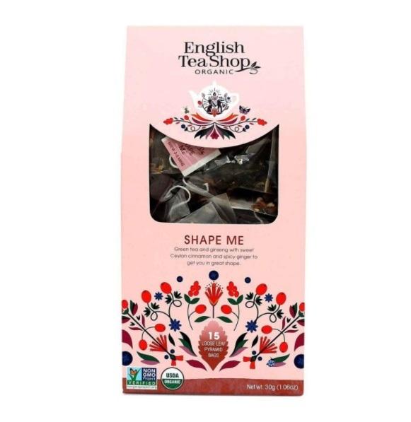Zobrazit detail výrobku English Tea Shop Tvaruj mě 15 pyramidek sypaného čaje
