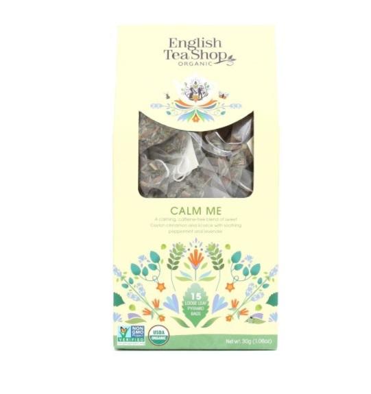 Zobrazit detail výrobku English Tea Shop Zklidnění sypaný čaj 15 pyramidek sypaného čaje