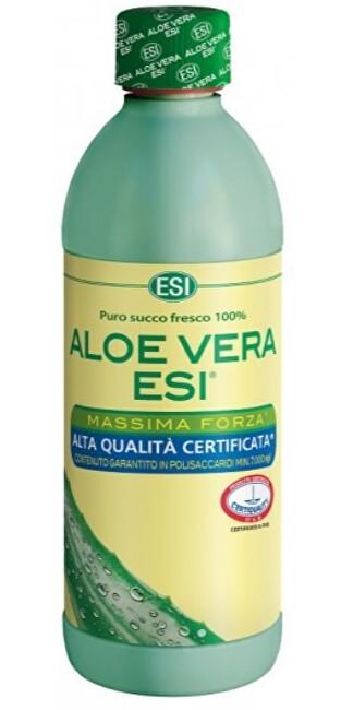 Zobrazit detail výrobku ESI ALOE VERA ESI – čistá šťáva 99,8% 500 ml