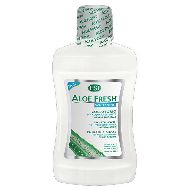 ESI AloeFresh ústní voda bělící bez alkoholu 500 ml