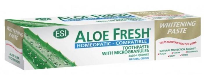 Zubní pasta ESI AloeFresh Homeopatic 100 ml