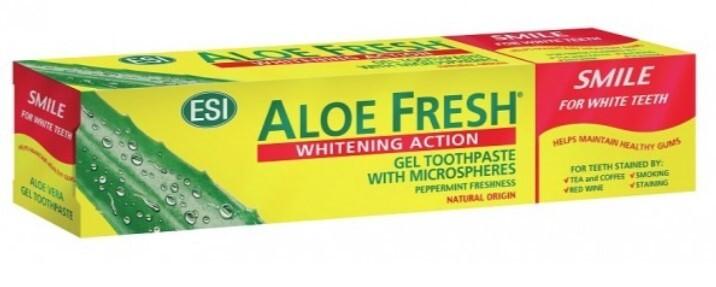 Zubní pasta ESI AloeFresh Smile 100 ml