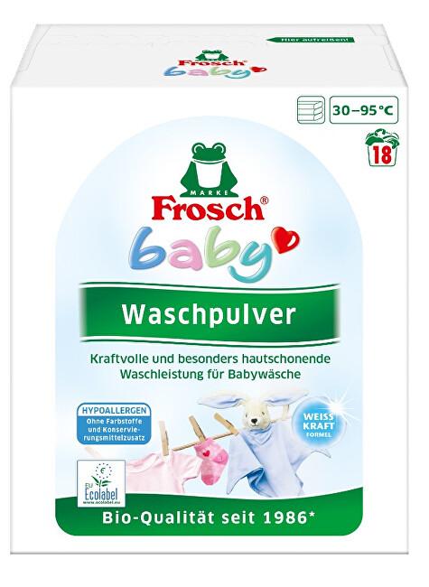 Zobrazit detail výrobku Frosch EKO Baby prací prášek na kojenecké prádlo 1 215 g