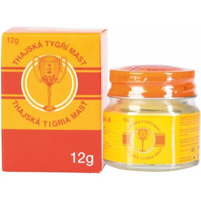 Zobrazit detail výrobku Golden Cup Thajská tygří mast Golden Cup Balm 12 g