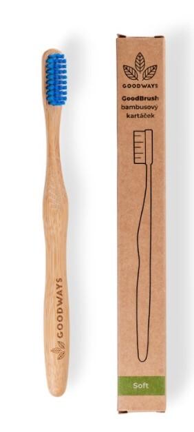 Zobrazit detail výrobku GoodWays GoodBrush bambusový kartáček Modrá