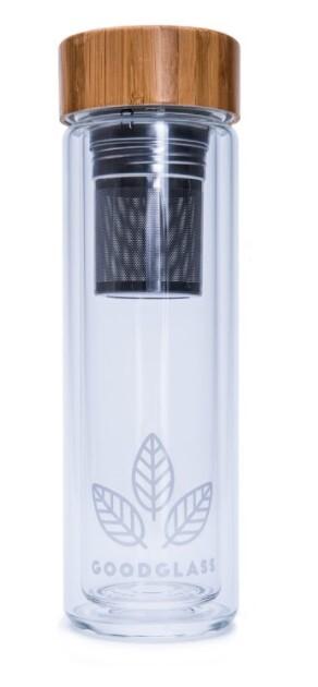 Zobrazit detail výrobku GoodWays GoodGlass Thermo skleněná lahev 450 ml