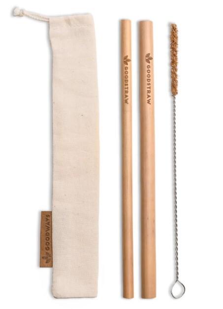 Zobrazit detail výrobku GoodWays GoodStraw bambusová brčka 2 ks