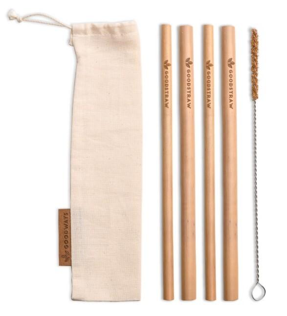 Zobrazit detail výrobku GoodWays GoodStraw bambusová brčka 4 ks
