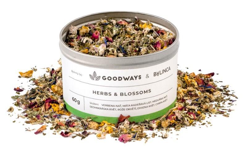 Zobrazit detail výrobku GoodWays Herbs & Blossoms bylinný čaj 60 g