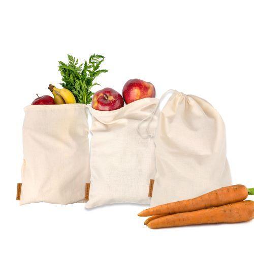 Zobrazit detail výrobku GoodWays Plátěné pytlíky na ovoce a zeleninu 3 ks