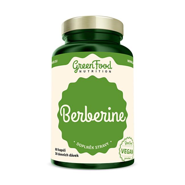 Zobrazit detail výrobku GreenFood Nutrition Berberine 60 kapslí