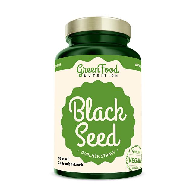 Zobrazit detail výrobku GreenFood Nutrition Black Seed - Černý kmín 90 kapslí