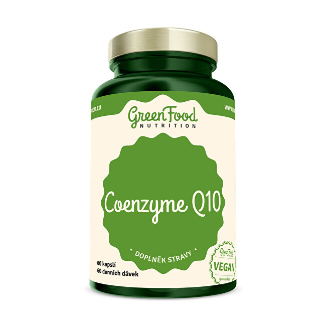 Zobrazit detail výrobku GreenFood Nutrition Coenzym Q10 60 kapslí