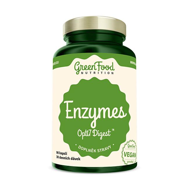 Zobrazit detail výrobku GreenFood Nutrition Enzymy Opti7 Digest 90 kapslí