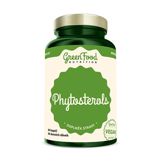Zobrazit detail výrobku GreenFood Nutrition Fytosteroly 60 kapslí