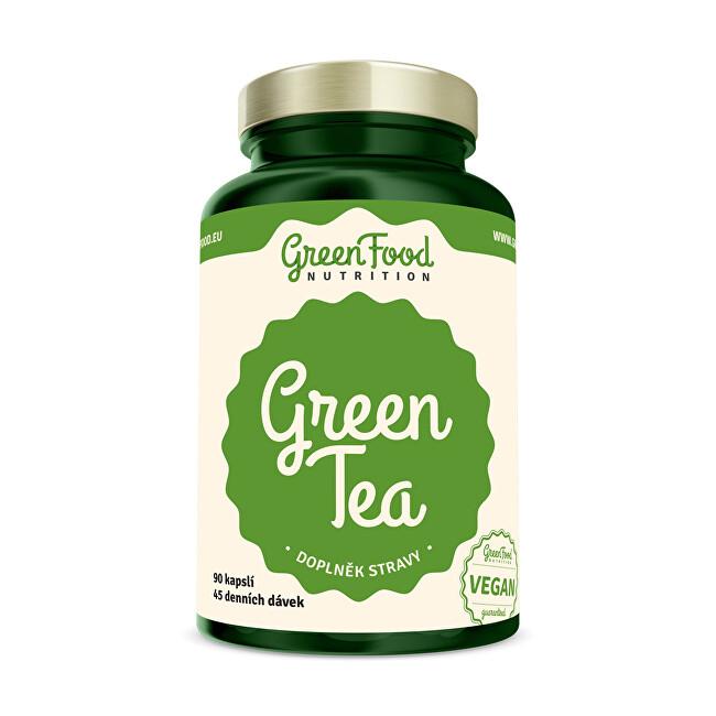 Zobrazit detail výrobku GreenFood Nutrition Green Tea 90 kapslí