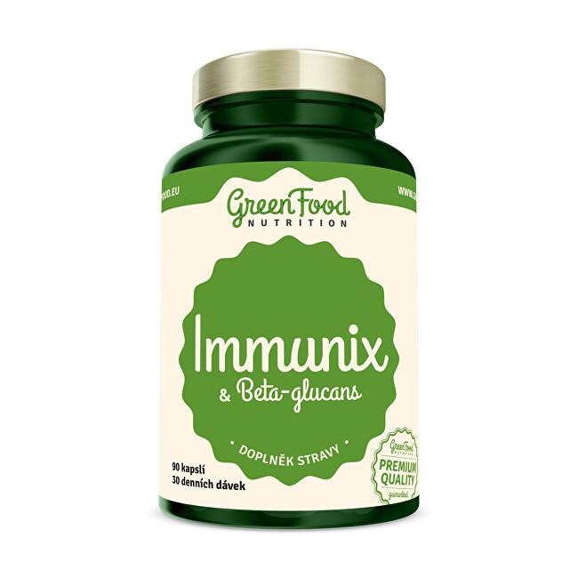 Zobrazit detail výrobku GreenFood Nutrition Immunix & Beta-glucans 90 kapslí