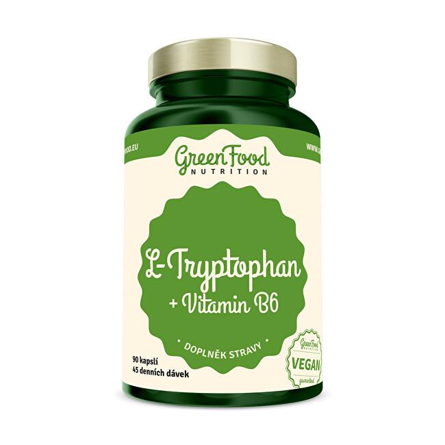 Zobrazit detail výrobku GreenFood Nutrition L-Tryptophan 90 kapslí