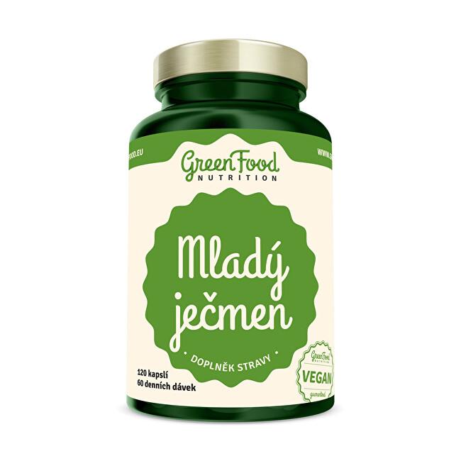 Zobrazit detail výrobku GreenFood Nutrition Mladý ječmen 120 kapslí