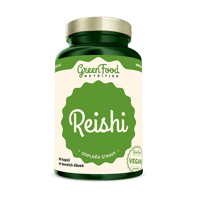 Zobrazit detail výrobku GreenFood Nutrition Reishi extract 90 kapslí